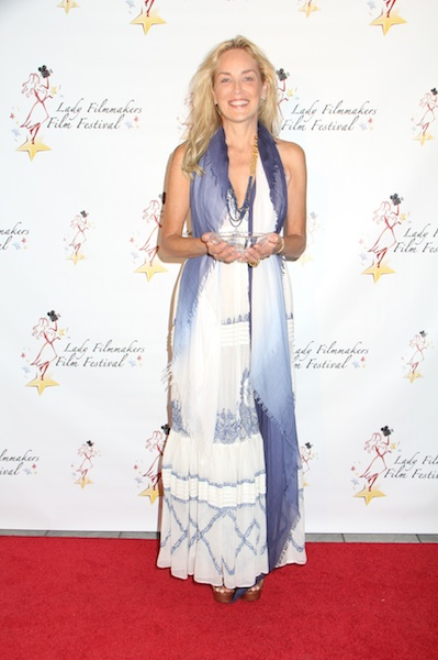 Sharon Stone Humanitarian Award Lady Filmmakers Film Festival