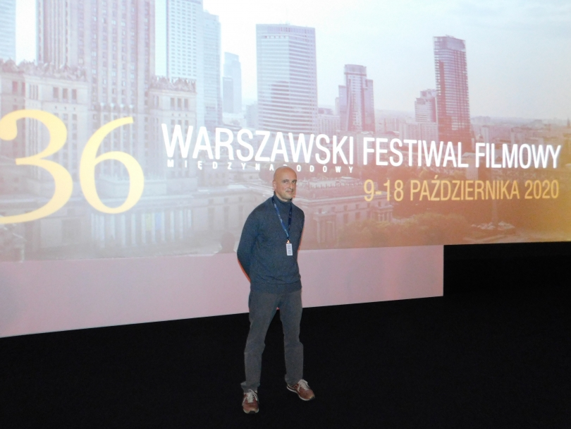 Rafa Russo shot 'The Year of Fury' in six weeks, and made its film festival debut in Warsaw.